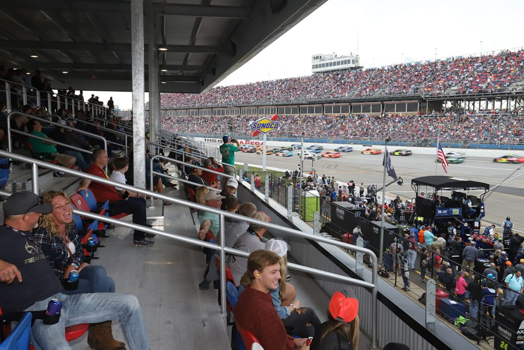 Pit Road Club Upper Level Reserved Ticket 1